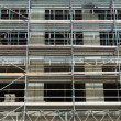 Photo: Scaffolding. Background.