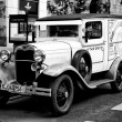 A small truck Ford Model BB (Black and White) — Photo