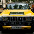 SUV Hummer H2 — Stock Photo