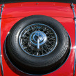 Stock Photo: Spare wheel Mercedes-Benz 500K Special Roadster