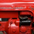 Stock Photo: Tractor engine Porsche Junior