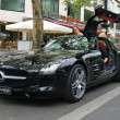 Stock Photo: Supercar Mercedes-Benz SLS AMG