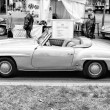 Stock Photo: Roadster Mercedes-Benz W198 (300SL)