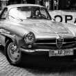 Car Alfa-Romeo Giulietta SS (Black and White) — Стоковая фотография