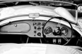 Cabin AC Cars (Black and White) — Stock Photo