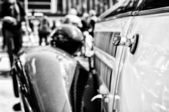 Old Car (Black and White) — Стоковое фото