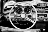 Cab Mercedes-Benz 190 SL (Black and White) — Photo