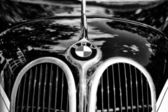 The emblem of BMW (Black and White) — Stock Photo
