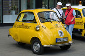A small vehicle BMW Isetta 300 (ADAC) — Stok fotoğraf