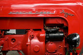 Tractor engine Porsche Junior — Stock Photo