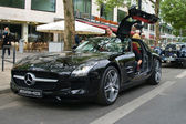 Supercar Mercedes-Benz SLS AMG — Stock Photo