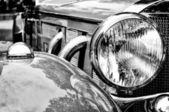 Car headlight close-up — Foto Stock