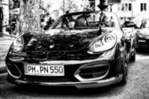 Car Porsche Cayman — Stock Photo