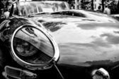 Auto's jaguar e-type roadster close-up — Stockfoto