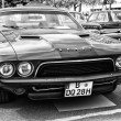 Постер, плакат: BERLIN MAY 11: Car Dodge Challenger black and white 26th Ol