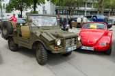 BERLIN - MAY 11: Military vehicle DKW Munga by Auto Union, 26th — Stock Photo