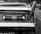 The rear brake lights Car Lincoln Premier Coupe Custom Showcar 1960 (black and white) — ストック写真