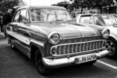 Car Ford Taunus 12M (black and white) — Stock Photo