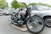 Motocicleta harley-davidson — Foto de Stock