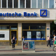 Deutsche Bank AG is a German global banking and financial services company — Stock Photo #28903295