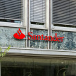 Stock Photo: Santander Group is Spanish banking group centered on Banco Santander