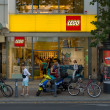 Stock Photo: LEGO Shop at Kurfuerstendamm
