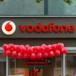 Vodafone is a British multinational telecommunications company — Стоковая фотография