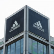 Adidas AG is a German multinational corporation — Stock Photo
