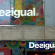 Desigual is a casual clothing brand — Stock Photo