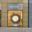 Stockfoto: Swatch Store on Kurfuerstendamm.