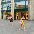 Stock Photo: H & M store on Kurfuerstendamm.