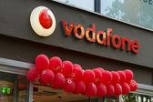 Vodafone ist ein britischer multinationaler telekommunikationsunternehmen — Stockfoto