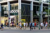 Shop for ADIDAS Kurfuerstendamm — Stockfoto
