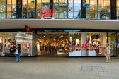H & M store on the Kurfuerstendamm — Stok fotoğraf