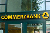Commerzbank is a German global banking and financial services company — Stock Photo