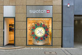Swatch store am kurfürstendamm. — Stockfoto
