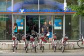 Office Berliner Volksbank on Alexanderplatz — Stock Photo