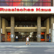 The Russian House of Science and Culture in Friedrichstrasse. — Stock Photo