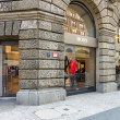 Hugo Boss boutique at Friedrichstrasse — Stock Photo