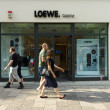 Stock Photo: Gallery of home electronics firm Loewe on Kurfurstendamm