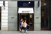 Montblanc boutique en la calle friedrichstrasse — Foto de Stock