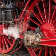 Steam locomotive wheels — Stock Photo #30058363