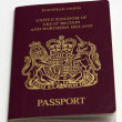 Passport Kingdom of Great Britain and Northern Ireland. — Stock Photo