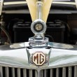 Stock Photo: Radiator roadster MG TD Midget 1951