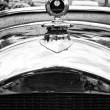 The radiator grille French retro car Amilcar Model CC — Stock Photo
