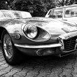 Stock Photo: Sport car Jaguar E-Type 4,2