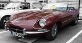 Sport car Jaguar E-Type 3,8 — Foto de Stock