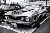 Esporte carro ford mustang mach eu — Foto Stock