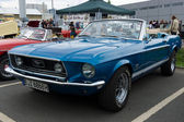 The sports car Ford Mustang GT convertible — Стоковое фото