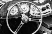 Cab roadster 1951 mg td trpaslík — Stock fotografie